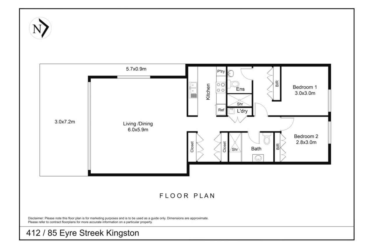 412/85 Eyre Street Kingston